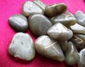 Labradorite Elder Futhark Rune Set