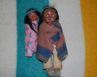 Vintage Skookum Dolls