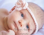 Baby Flower Headband Rosebud - Pick Your Color