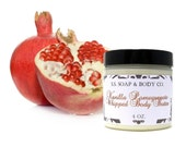 Vanilla Pomegranate Whipped Body Butter with Shea Butter