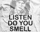Ghostbusters - Ray Stantz - Listen do you smell something Quote T-shirt