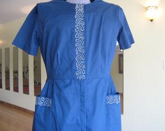Squiggle Shirt Dress