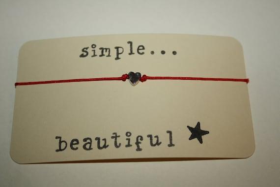 Simple...Beautiful... String Bracelet...