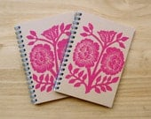 Set of Two Block Printed Notebooks