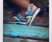 A dancer's feet