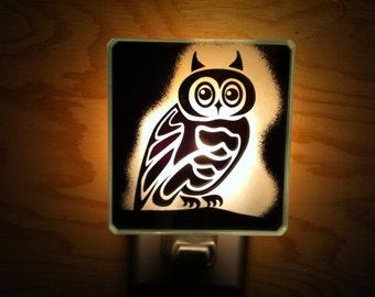 Owl Nightlight / Veilleuse Hibou