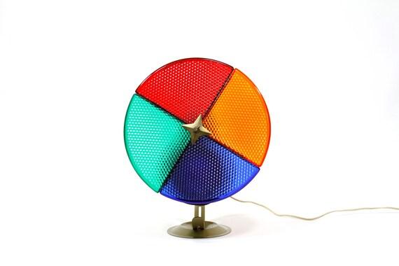Spinning Color Wheel Light