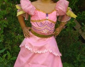 Special Price-Flower Girl Dress - Barbie Fairytale Three Musketeer Costume