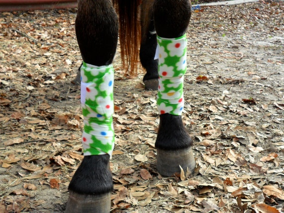 Fun polo wraps for your horse by Denim and Ribbon