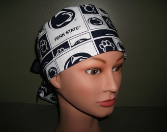 Penn State ponytail scrub cap
