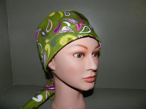 Pixie scrub cap