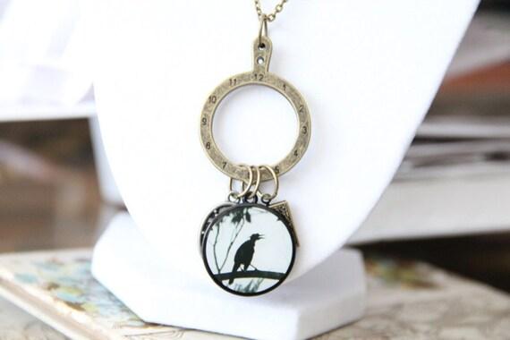 Hunger Games Book Geek Girl Necklace