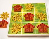 Tile Tic-Tac-Toe Game Set - Home
