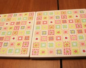 Tile Coasters - Patchwork