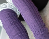 Leg warmers : Boot Leg Warmers with Lace / Boot Toppers / Adult Leg Warmers /  Leg Warmers