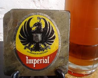 Handmade Brew Slate Coaster - Imperial