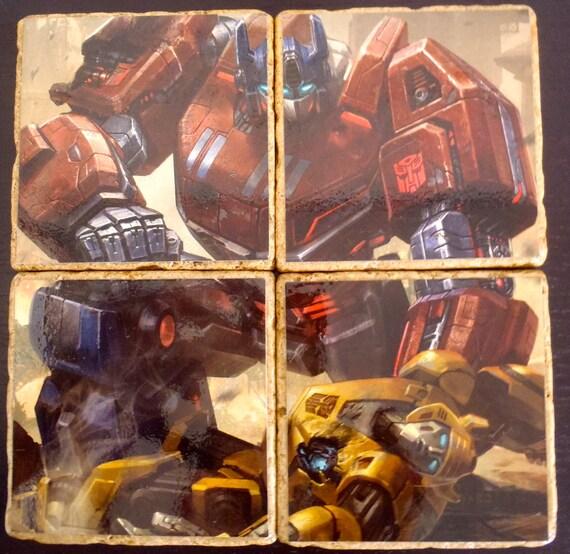 Transformers Stone Coaster Set (4)