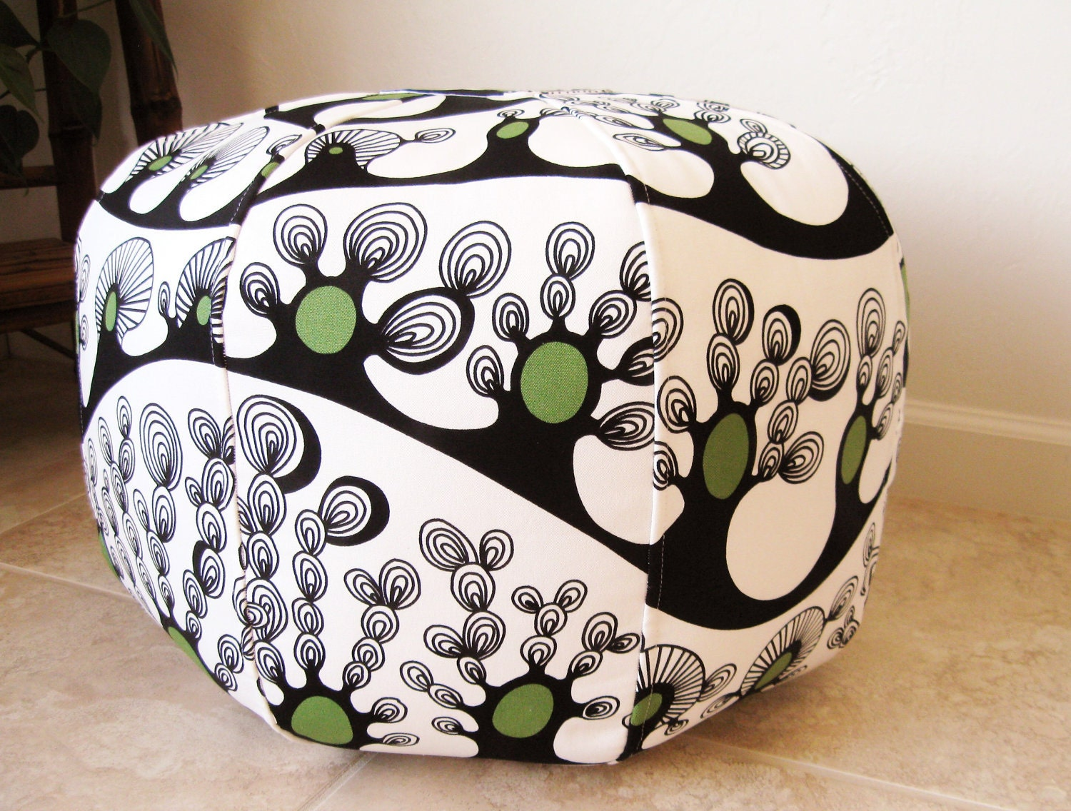 abstract trees ikea fabric 18 pouf ottoman. Black Bedroom Furniture Sets. Home Design Ideas