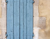 Old shutters print, distressed shutters canvas, shutters photo, Provence print, France print, France photo, Provence print