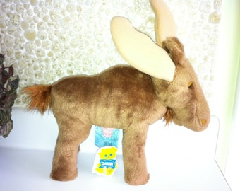 Dakin Vintage MOOSE 1980 Stuffed Plush Toy