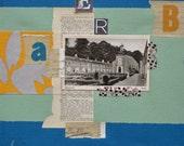 Collage Begijnhof Breda, 30x30