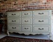 Vintage French Provincial Dresser (Reserved for Ashley)