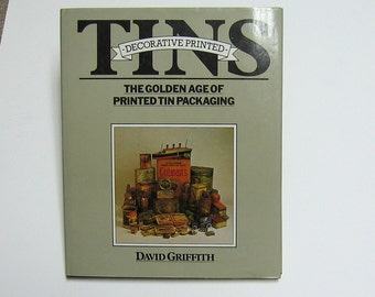 Book - Decorative Printed Tins by David Griffith