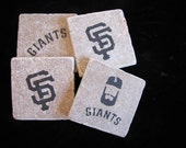 San Fransico Giants- Set of 4 Coasters