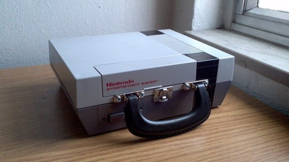 Nintendo Entertainment System Lunch Box Commision
