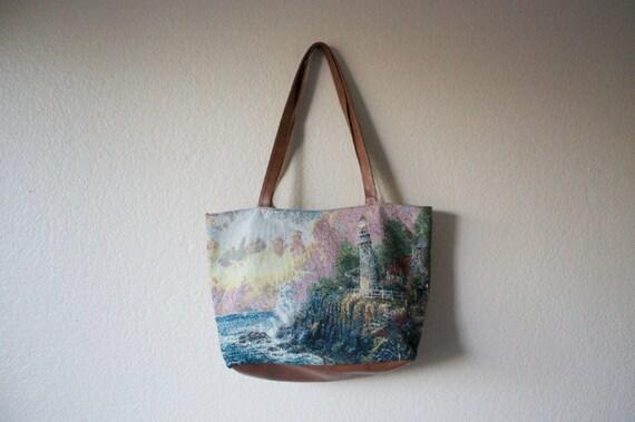 Ocean Scene Tote Bag
