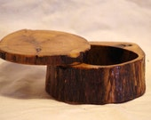 Rambunctious Bandsaw Arbor Vitae Swing Top Jewelry Box