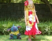 Lilo Dress for Disney Vacation or dress up by littleellaroo
