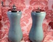 Shabby Salt & Pepper Shakers