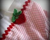 Girls Strawberry Summer Dress