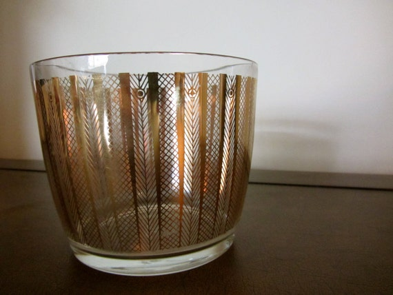 Vintage GEORGES BRIARD Glass Bowl