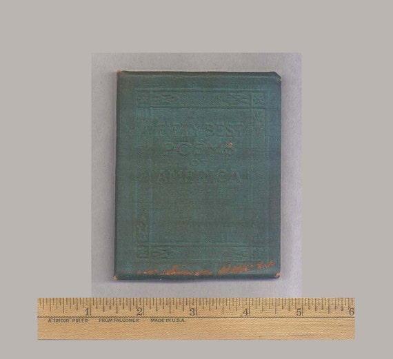 Little Leather Library - Fifty Best Poems of America - Vintage Miniature  Book from the 1920s