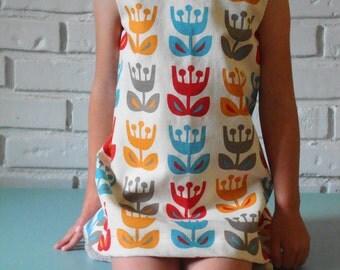 ingrid | vintage inspired toddler & little girls dress | handmade by little ticket