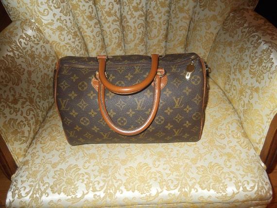 Louis Vuitton Speedy 30- Authentic