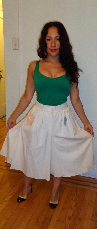 Authentic Chloe Paris pants/ skirt