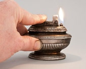 1950s Ronson Queen Anne Table Lighter Fully Restored With Authentic Patina