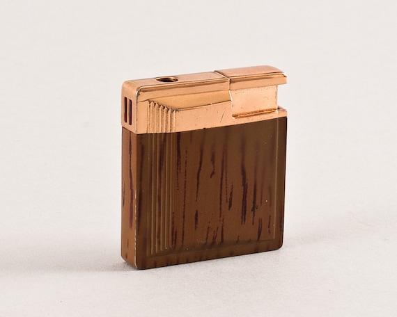 Working Vintage Gold Toned Butane Pocket Lighter