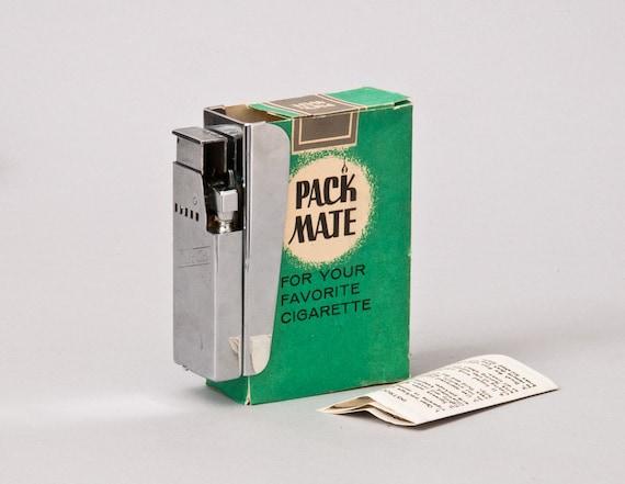 Working 1950s Pack Mate Clip On Cigarette Lighter NOS