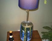 Bell's 2010 Winter White, Beer Keg Lamp