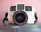 SALE- Vintage White Camera - 1959 Revere Eye-Matic EE 127 and Bonus Vintage Kodak Book