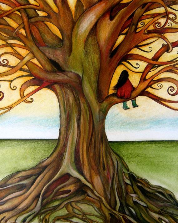 Art print  The infinite Tree