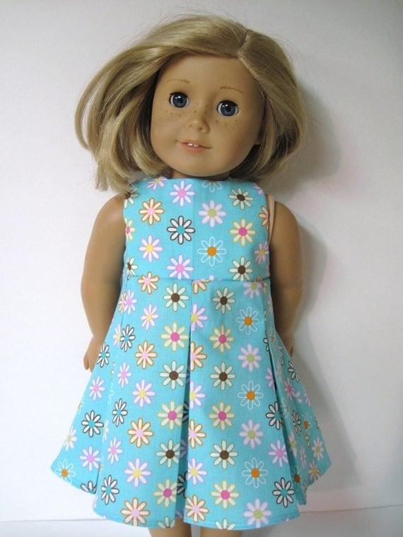 Sleeveless Pleated Skirt Dress for American Girl Doll