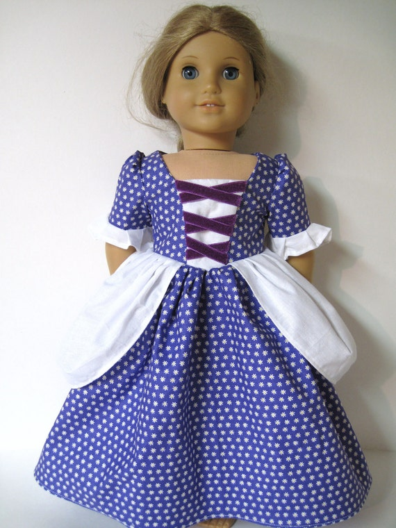 Colonial Dress for your American Girl Doll