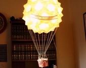 Custom Hot Air Balloon Paper Lantern Sculpture