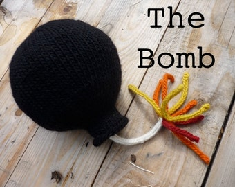 Bomb Knitting Pattern PDF