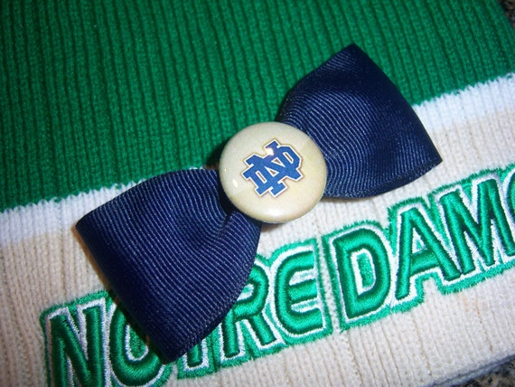 Notre Dame Hair Bow